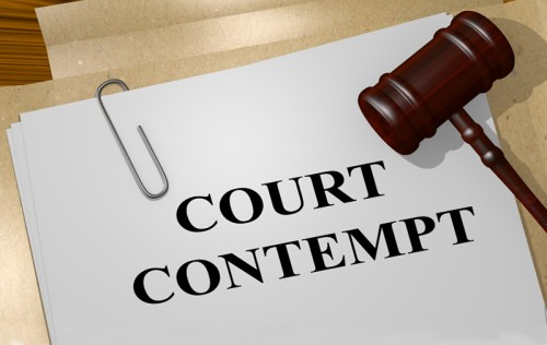 Court Contempt